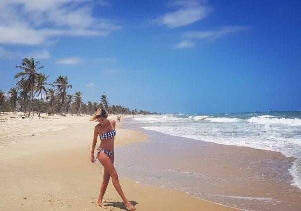 Bikini Bandeau geometrische Musterung - Rio de Sol