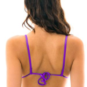 Triangle Bikini-Top Lila mit geraden Trägern - Rio de Sol