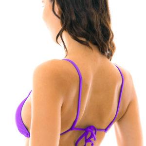 Sexy Triangle Bikini Top Lila