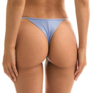 Denimblaue Mikro Bikini String, verstellbar - Rio de Sol
