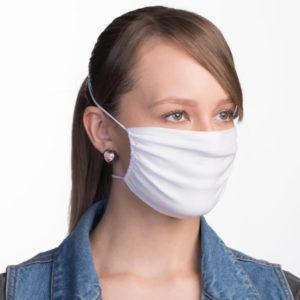 Verstellbare Atemschutzmaske, weiß