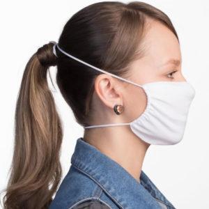 Verstellbare Atemschutzmaske, weiß, Lua Morena