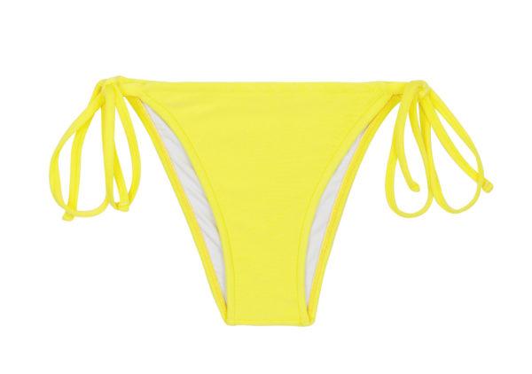 Zitronengelbes Bikinihöschen - Bottom Beach Strega Rolote