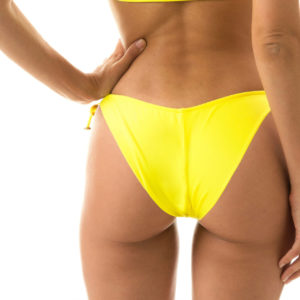 Scrunch Bikinihose gelb Rio de Sol