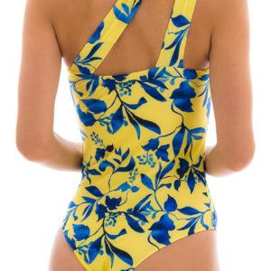 Gelber asymetrischer Sexy Badeanzug, Rio de Sol