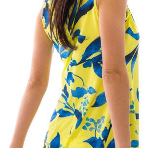 Gelbes Sexy Strandkleid 2020