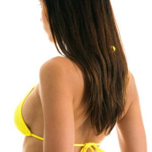 Verstellbares Triangel Bikinitop zitronengelb, Rio de Sol