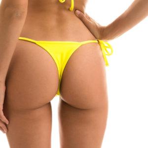 Sexy Mikro Bikinihose zitronengelb