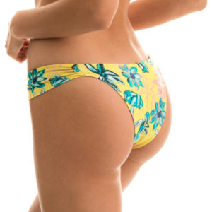 Sexy Bikinihose Blumenmuster