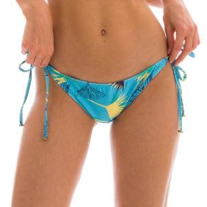 Hellblaue sexy Bikinihose Brasil