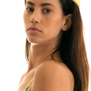 Gelb geblühmtes Haarband - Rio de Sol