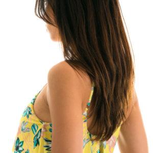 Verstellbares Bustier geblühmt - Sexy Bikini Top