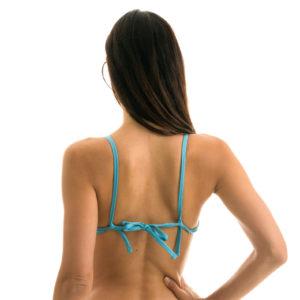 Himmelblaues Bikini Push-Up - Rio de Sol