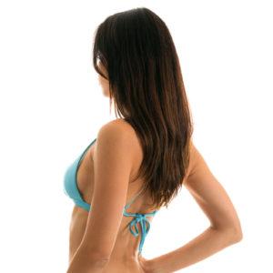 Himmelblaues Brasil Bikinitop